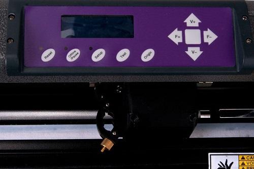 USCutter Vinyl Cutter Control Panel