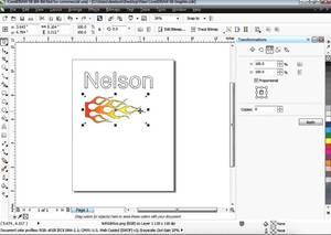 Corel Draw vinyl cutting software