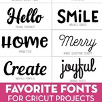12 Best Fonts for Cricut to Use in 2021