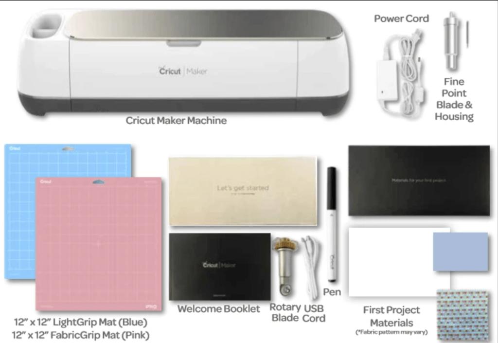 cricut maker box