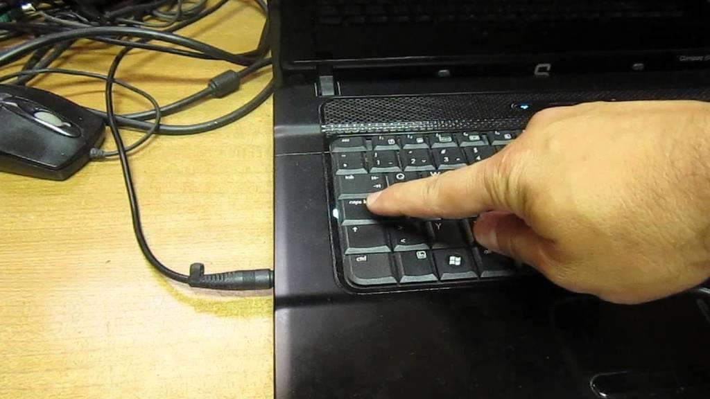 HP Caps Lock Blink Codes